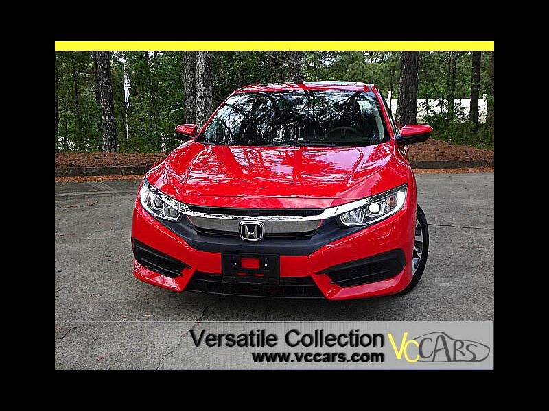2016 Honda Civic Sedan EX CVT Blind Spot Camera XM BT Alloys
