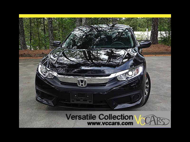 2016 Honda Civic Sedan EX CVT w/Honda Sensing Collision Allert Blind Spot