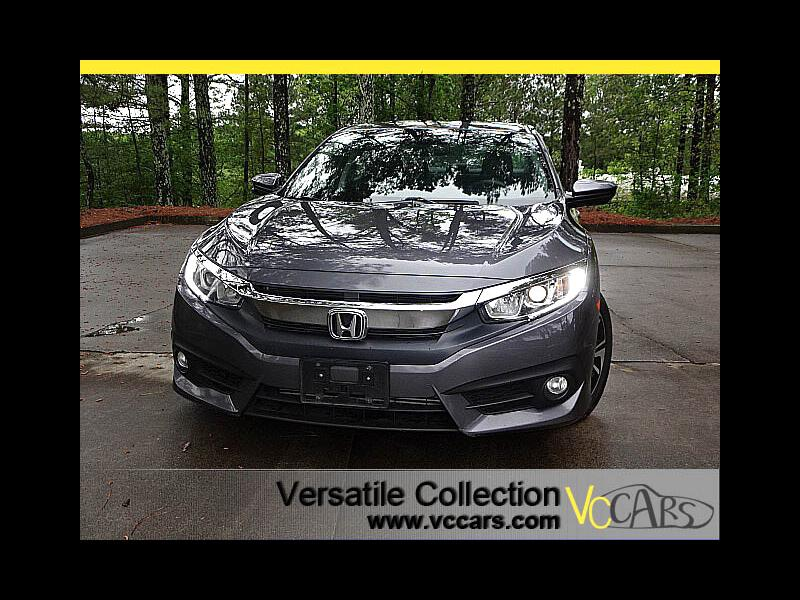 2016 Honda Civic Sedan EX-T CVT Blind Spot Camera Sunroof Heated Seats XM