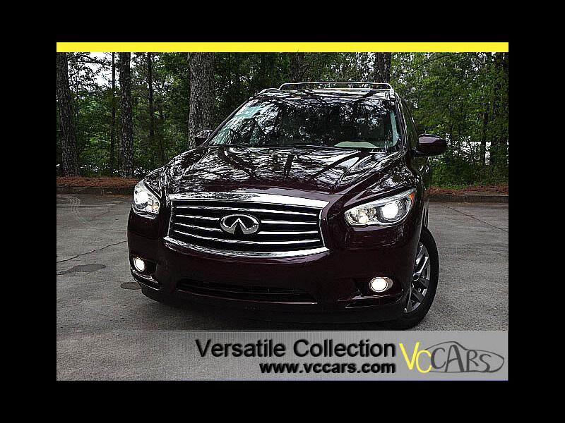 2015 Infiniti QX60 AWD Premium Package Camera Heated Seats HID XM BT