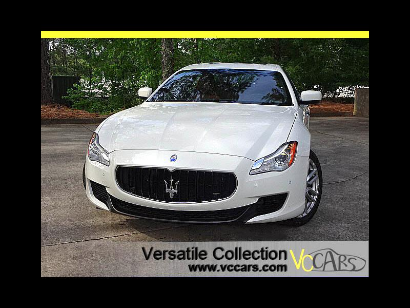 2015 Maserati Quattroporte S Q4 AWD Luxury Tech Navigation Camera LED HID XM