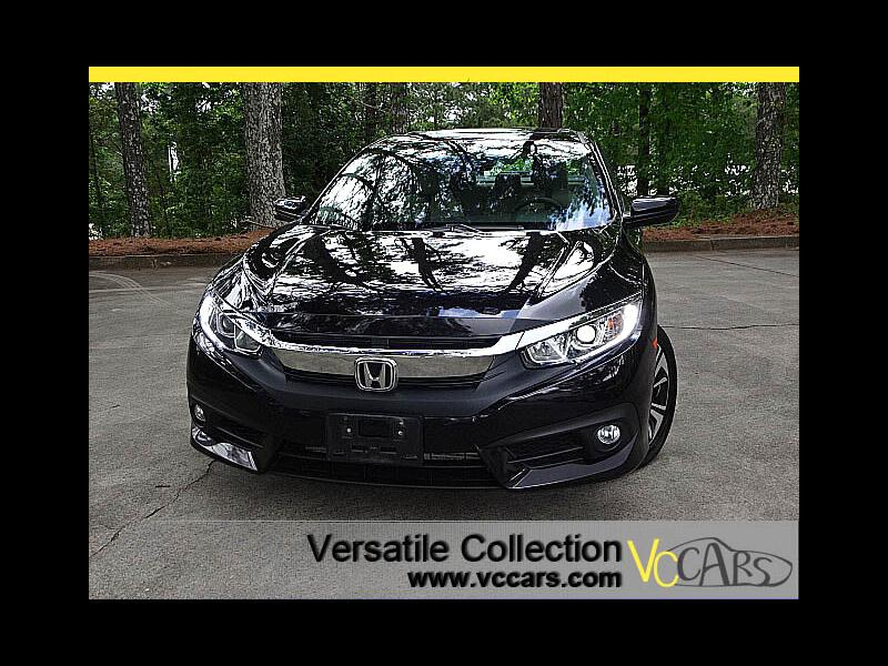 2016 Honda Civic Sedan EX-T CVT Tech Blind Spot Camera Sunroof Heated Sea