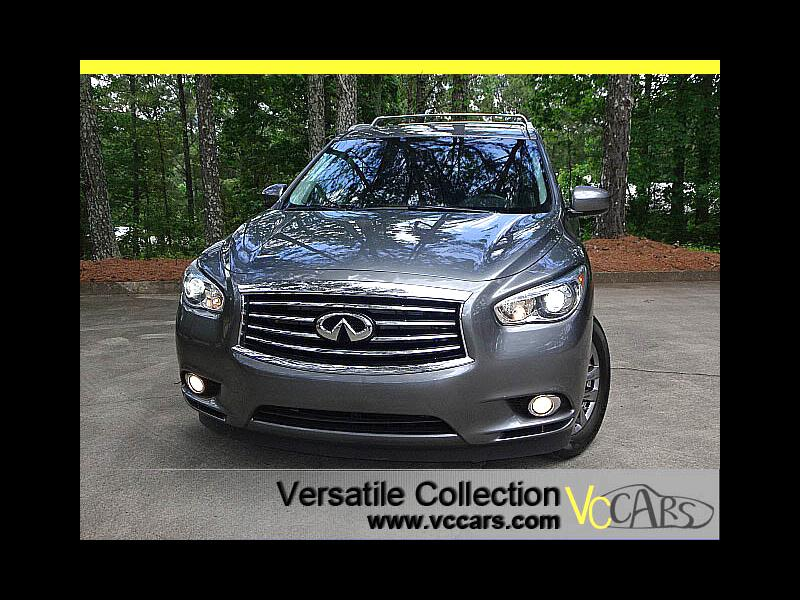 2015 Infiniti QX60 Premium Tech Package DVD Back Up Camera XM BT HID