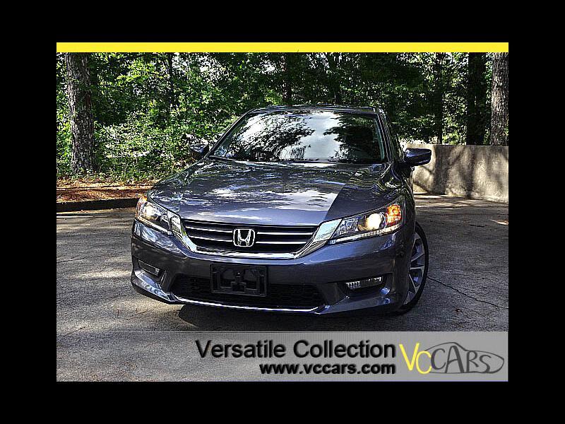 2015 Honda Accord Sedan Sports CVT Back Up Camera XM BT Pedal Shift Alloys