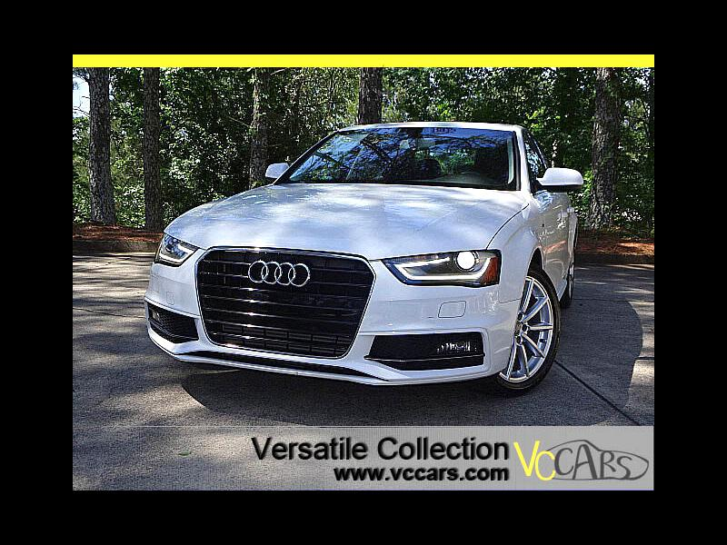 2015 Audi A4 2.0T Premium S-Line Tech Navigation Sunroof LED HI
