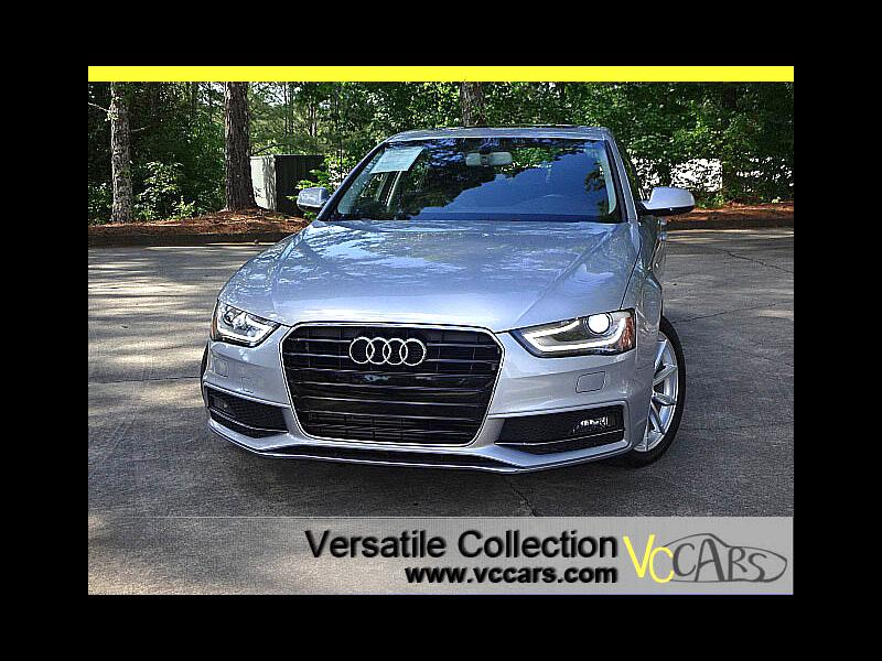 2016 Audi A4 CVT FrontTrak 2.0T Premium S-Line Leather Heated S