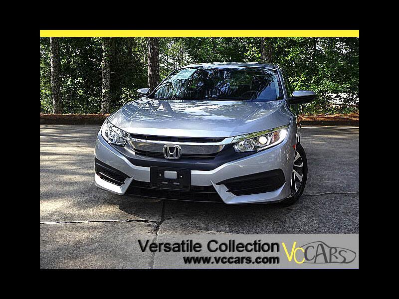 2016 Honda Civic Sedan EX CVT Blind Spot Camera Sunroof XM BT LED Alloys