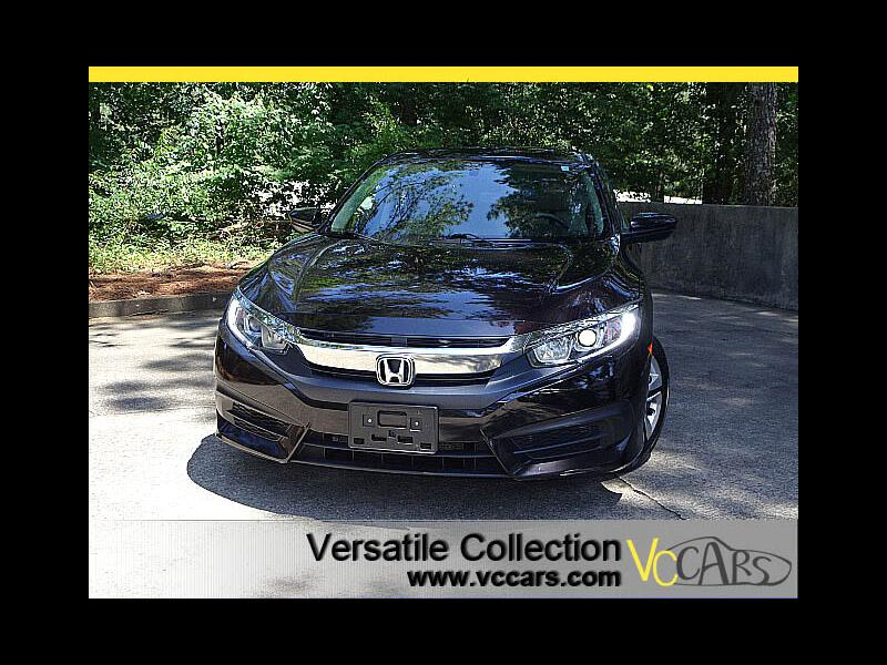 2016 Honda Civic Sedan LX CVT Back Up Camera XM BT