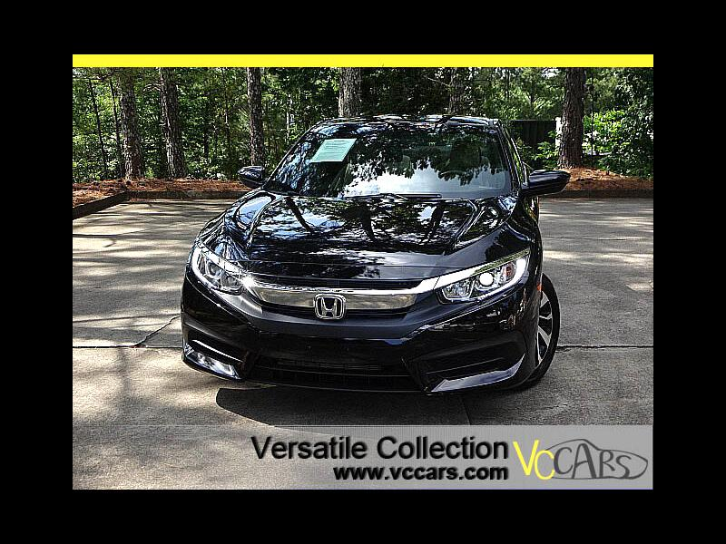 2016 Honda Civic Coupe LX CVT Back Up Camera LED XM BT Alloys