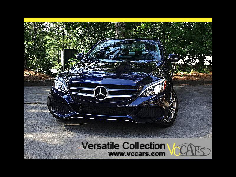 2016 Mercedes-Benz C-Class C300 4MATIC Luxury Tech Navigation Panoramic Roof