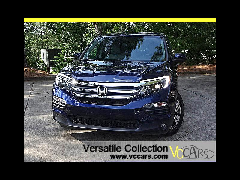 2016 Honda Pilot EX-L Tech Blind Spot Camera Leather Heated Seats S