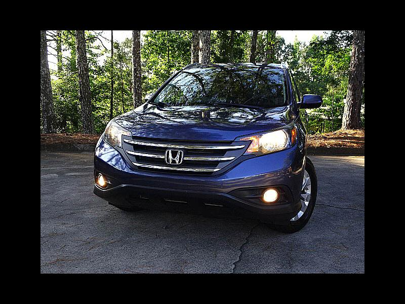 2013 Honda CR-V EX-L Tech Navigation Leather Heated Seats Sunroof
