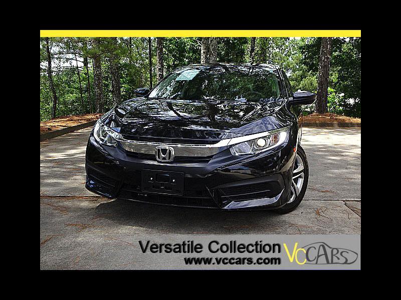 2016 Honda Civic Sedan LX Sedan CVT Back Up Camera BT
