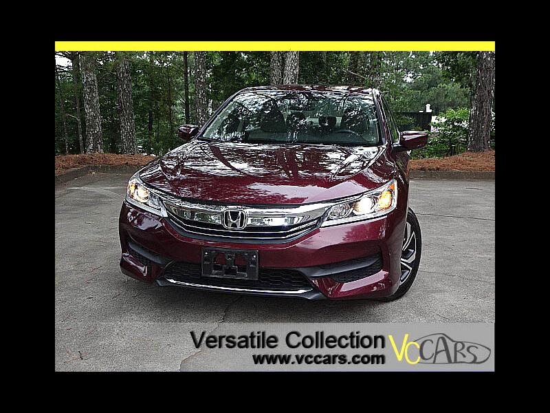 2016 Honda Accord Sedan LX CVT Back Up Camera XM BT Alloys