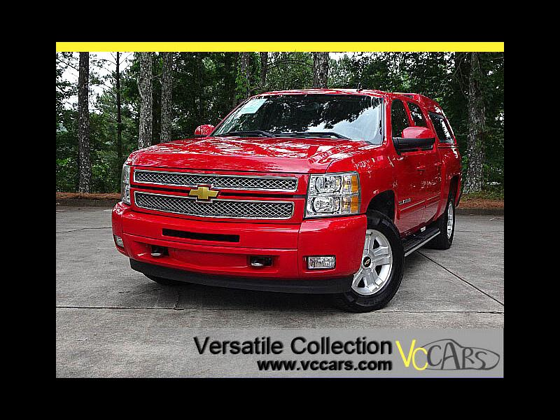 2012 Chevrolet Silverado 1500 4WD Crew Cab LTZ / Z71 Package Leather Heated Seat