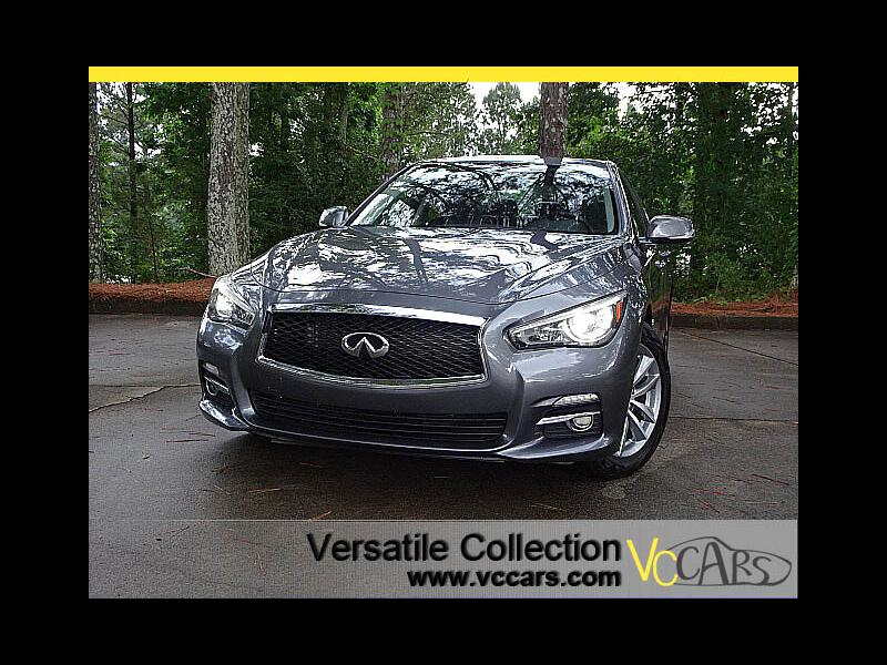 2015 Infiniti Q50 AWD Premium Tech Navigation Camera Bose Sound LED