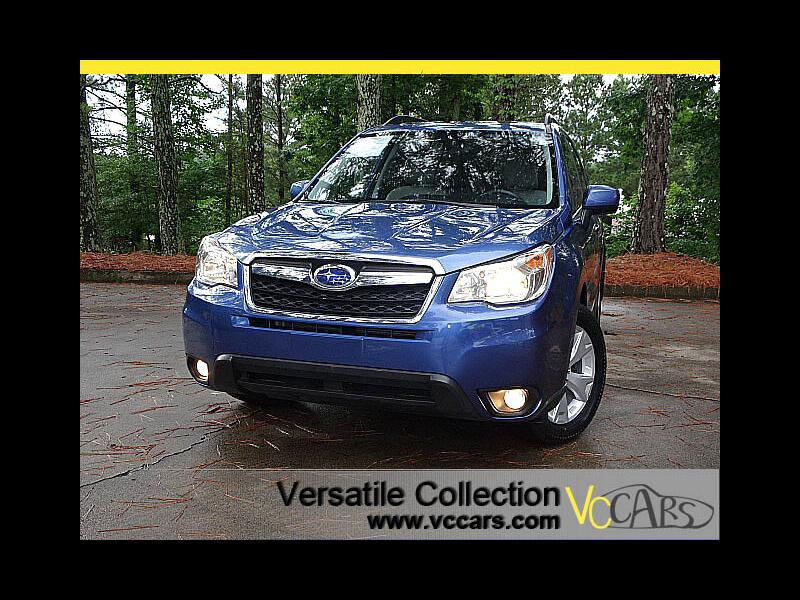 2015 Subaru Forester 2.5i CVT Limited w Leather Panoramic Roof Heated S