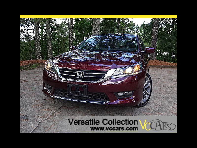 2015 Honda Accord Sedan Sports CVT Back Up Camera Power Seat XM BT Alloys