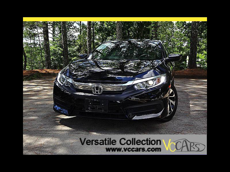 2017 Honda Civic Coupe LX-P CVT Sports Back Up Camera Sunroof XM BT Alloy