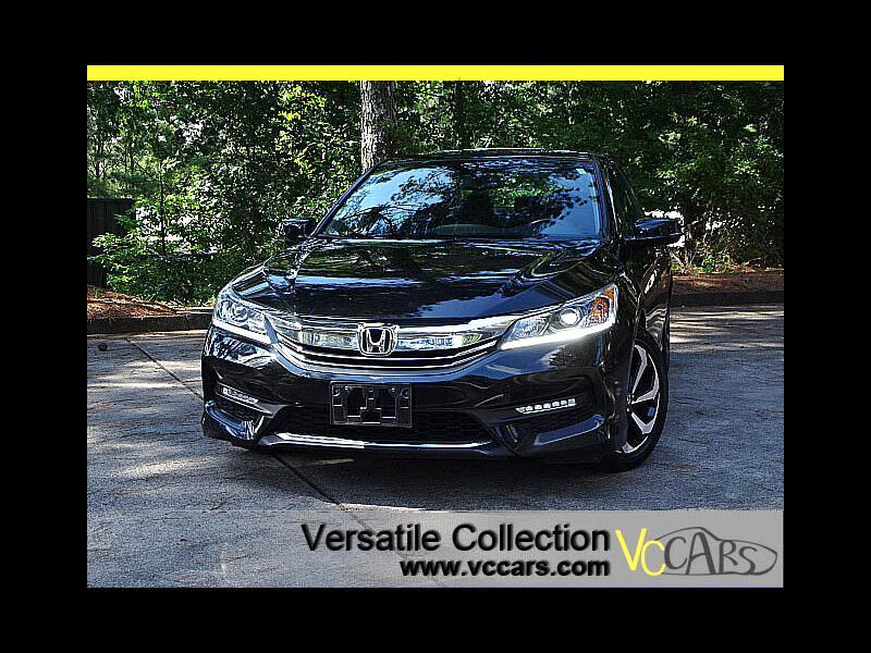 2016 Honda Accord Sedan EX-L CVT Blind Spot Camera Leather Heated Seats Su