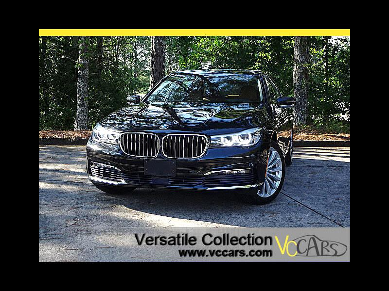 2017 BMW 7 Series 740i xDrive Tech Navigation Panoramic Roof Blind S