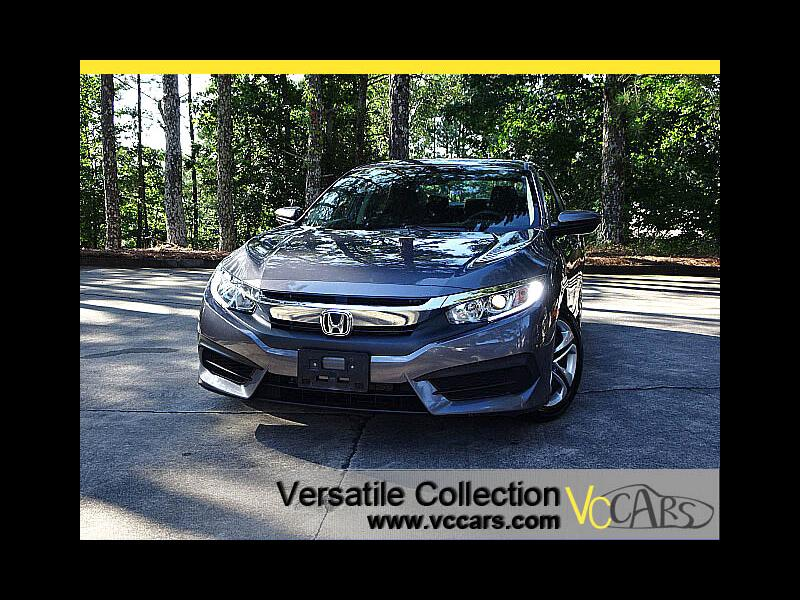 2016 Honda Civic Sedan LX CVT Back Up Camera BT