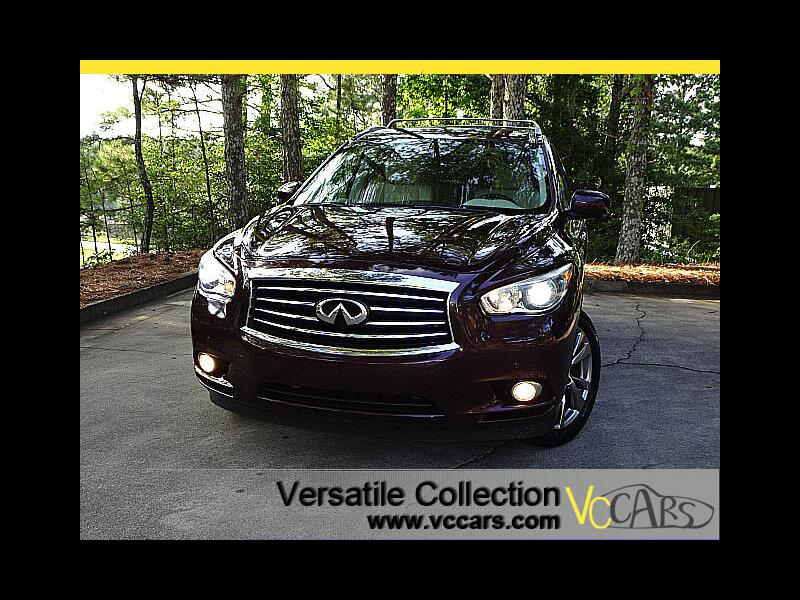 2015 Infiniti QX60 Deluxe Touring Theater Package Navigation Blind Sp