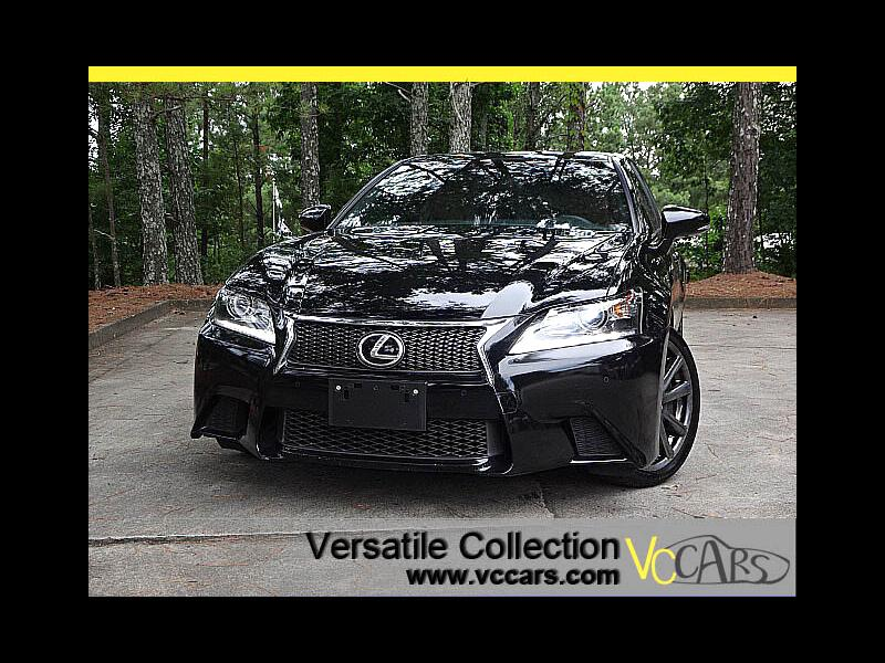 2014 Lexus GS 350 F-Sports Luxury Tech Navigation Blind Spot Monitor
