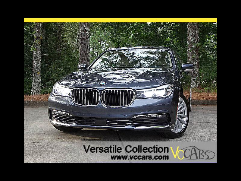 2016 BMW 7 Series 740i Premium Tech Navigation Panoramic Roof HUD Ca
