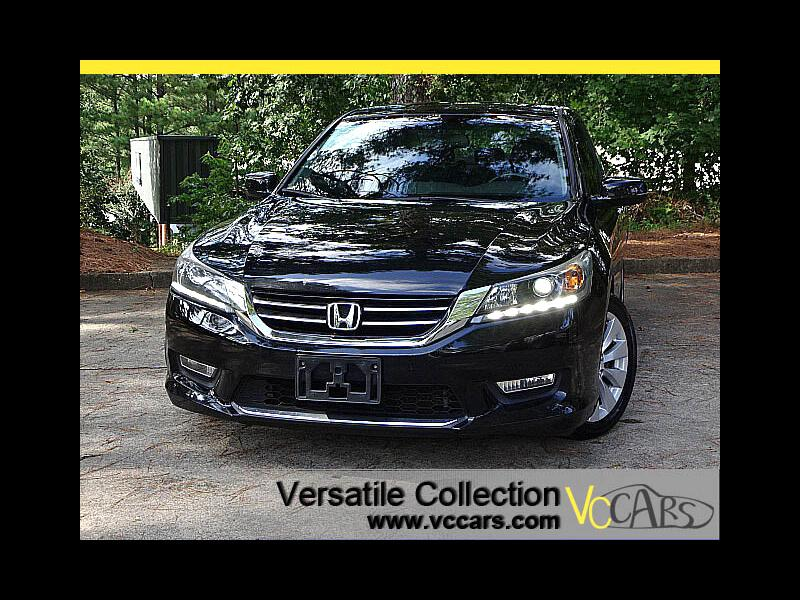 2013 Honda Accord Sdn EX-L V6 Blind Spot Camera Leather Sunroof Heated S