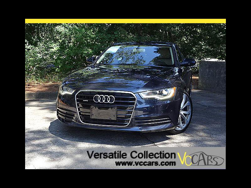 2015 Audi A6 2.0T Premium Plus Quattro Tech Navigation Blind Sp
