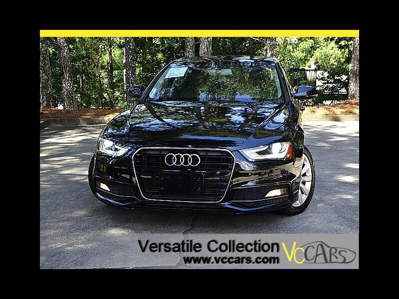 2015 Audi A4 2.0T Premium CVT S-Line Leather Sunroof LED HID XM