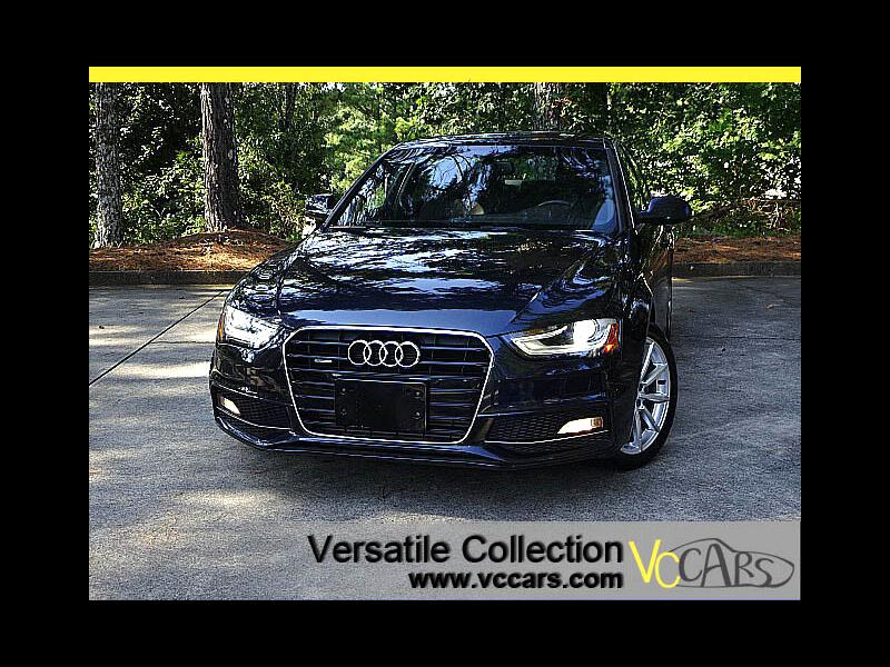 2014 Audi A4 2.0T Premium Plus Quattro Blind Spot Monitors Heat