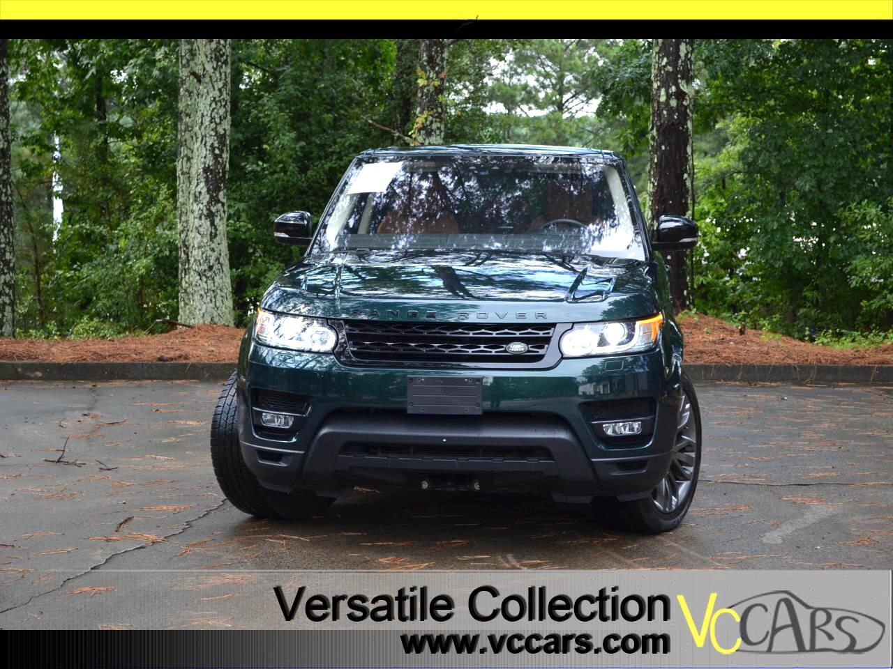 Land Rover Range Rover Sport V8 Supercharged HSE Dynamic 2017
