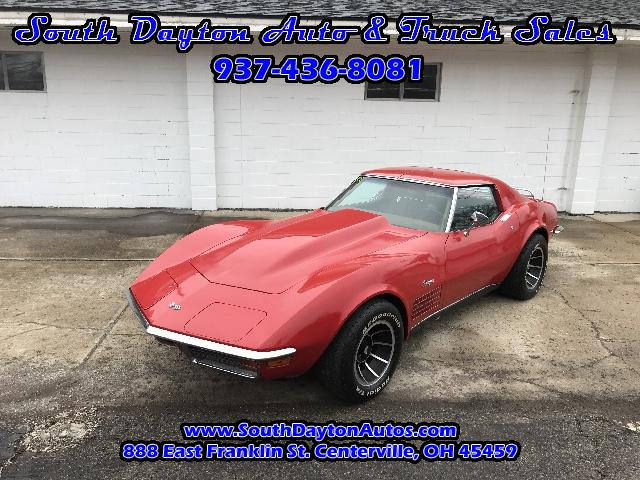 1972 Chevrolet Corvette Stingray C-3