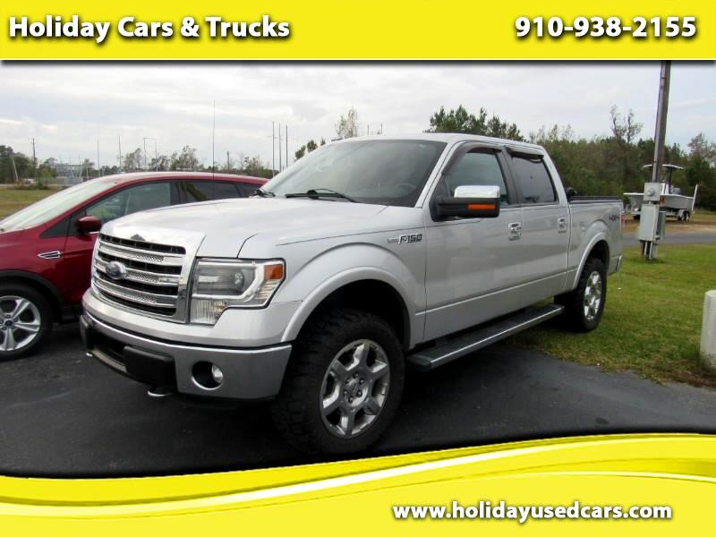 2014 Ford F-150 Lariat SuperCrew 6.5-ft. Bed 4WD