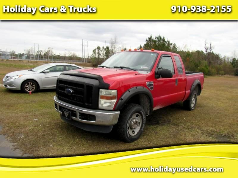 2008 Ford F-250 SD XL SuperCab 4WD