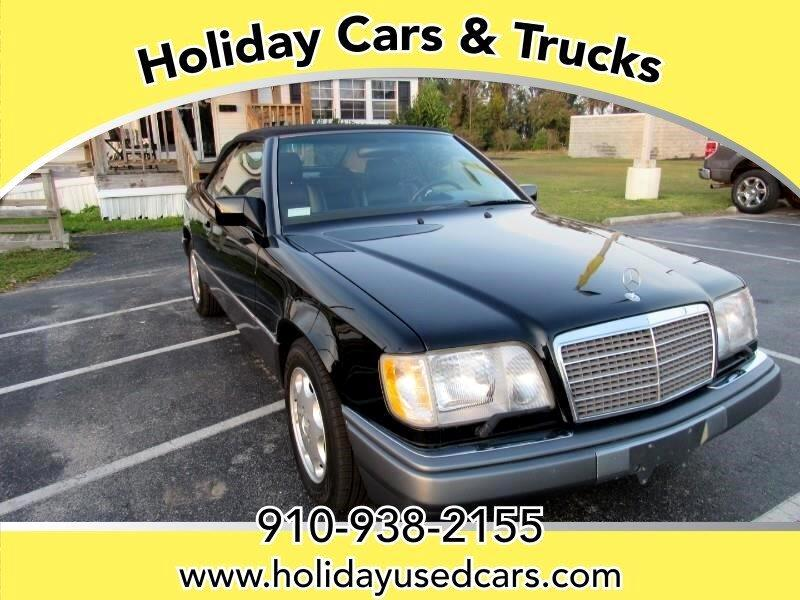 used 1994 mercedes benz e class e320 cabriolet for sale in jacksonville nc 28540 holiday cars trucks used 1994 mercedes benz e class e320