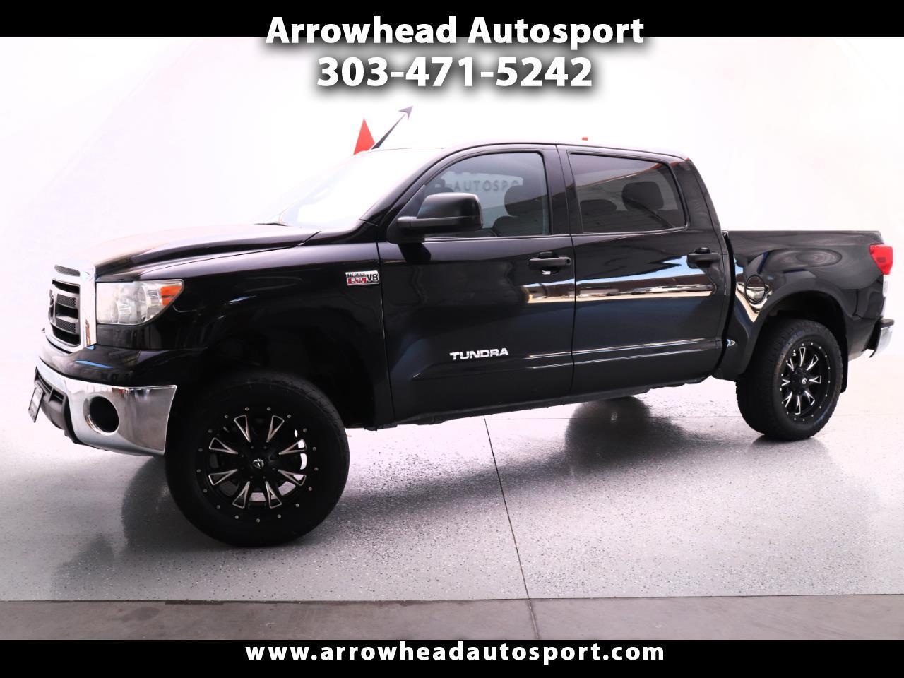 2011 Toyota Tundra 4WD Truck CrewMax 5.7L V8 6-Spd AT (Natl)