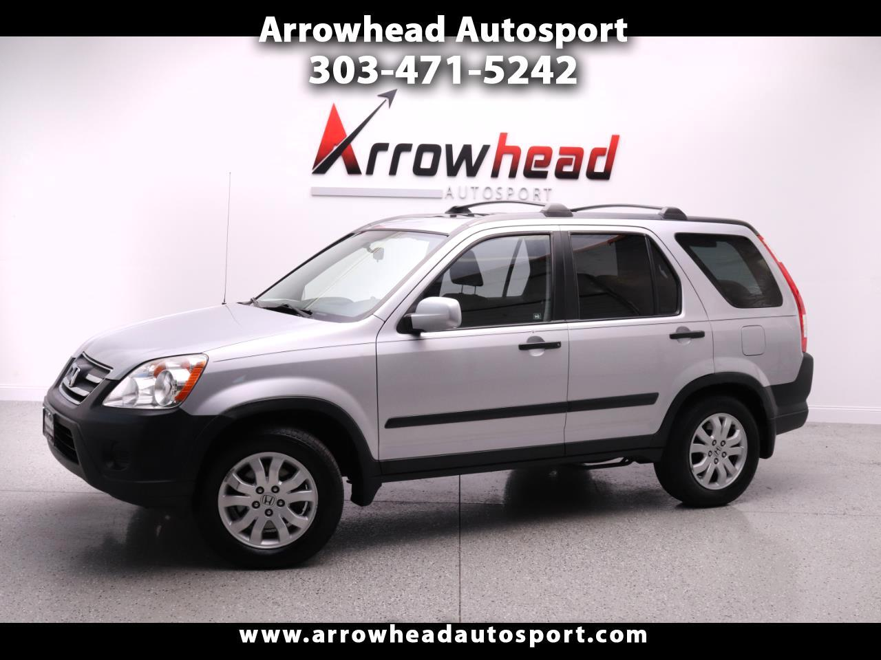 2005 Honda CR-V 4WD EX AT