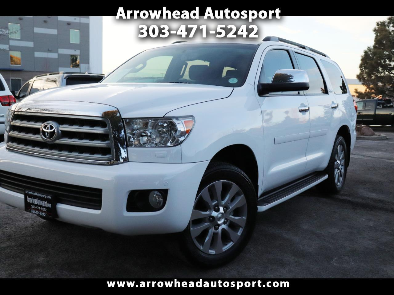 2013 Toyota Sequoia 4WD 5.7L FFV Limited (Natl)