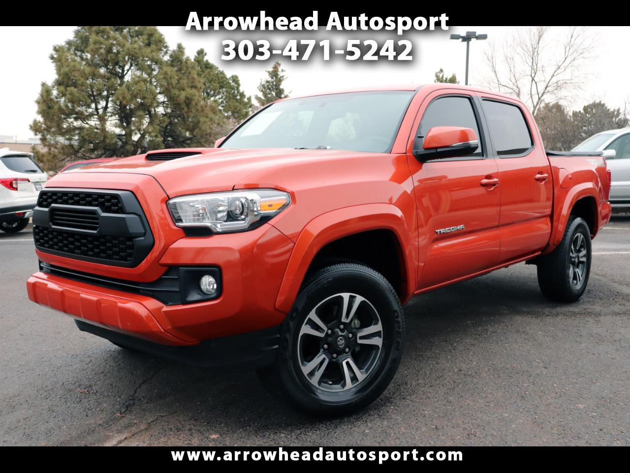 2017 Toyota Tacoma 4WD Double Cab V6 AT TRD Sport (Natl)