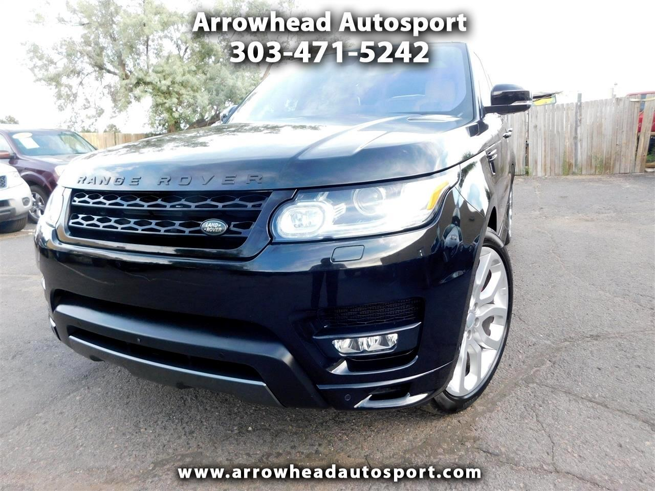 2016 Land Rover Range Rover Sport 4WD 4dr V8 Autobiography