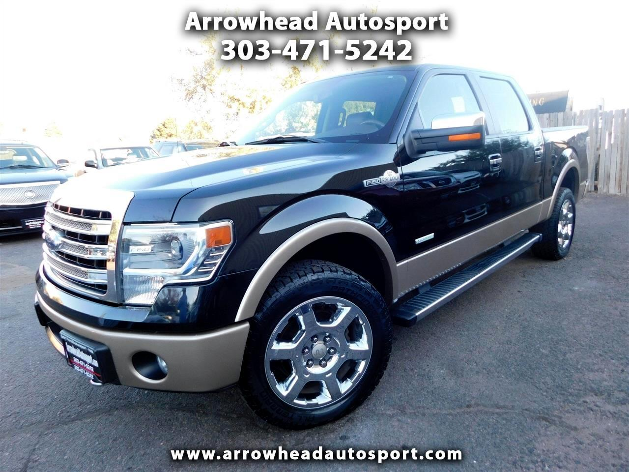 "2014 Ford F-150 4WD SuperCrew 145"" King Ranch"