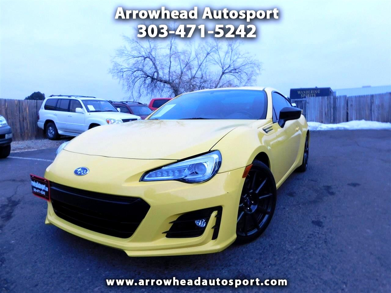 Subaru BRZ Series.Yellow Manual 2017