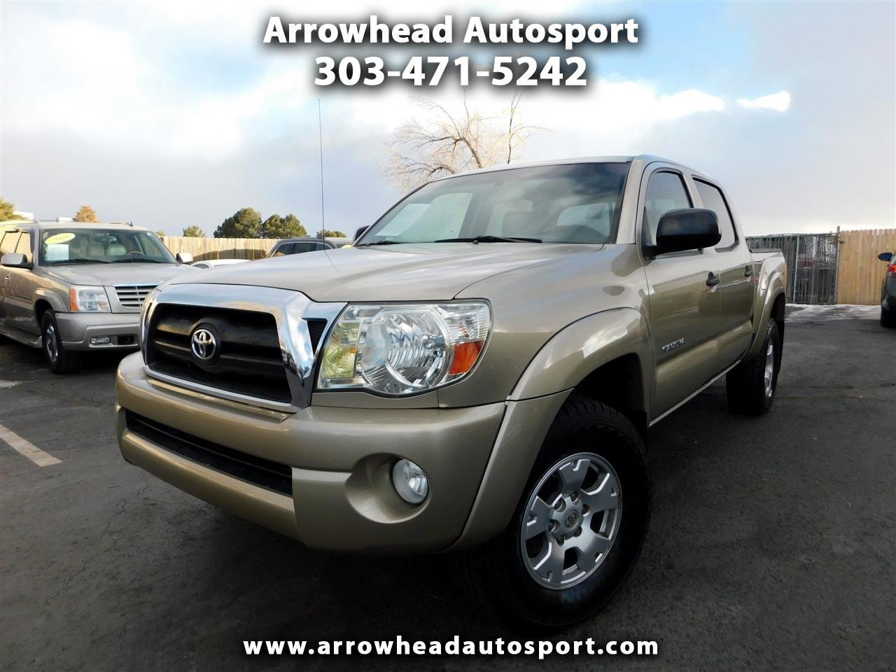 Toyota Tacoma 4WD Double Cab V6 AT TRD Off Road (Natl) 2008