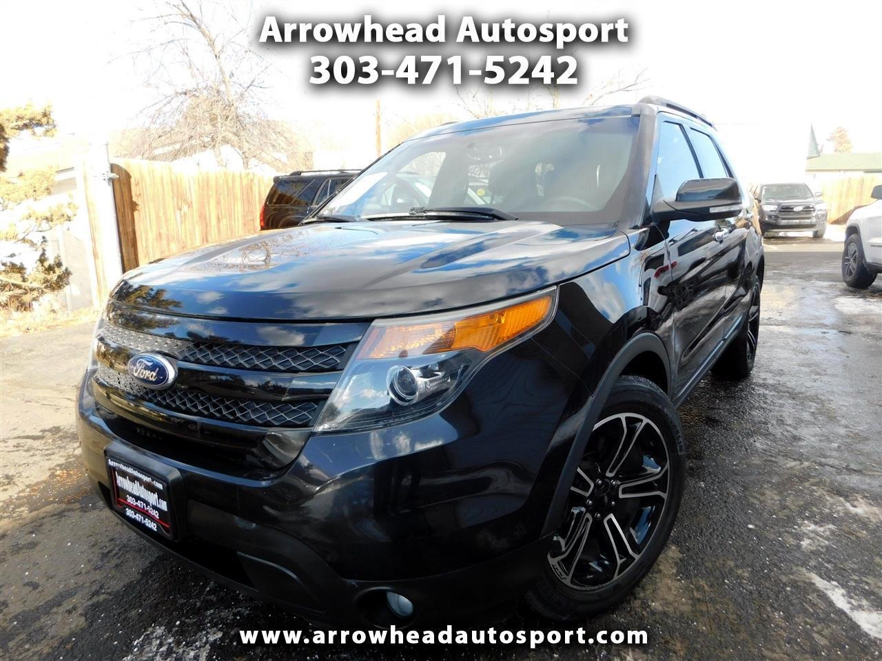 Ford Explorer 4WD 4dr Sport 2013