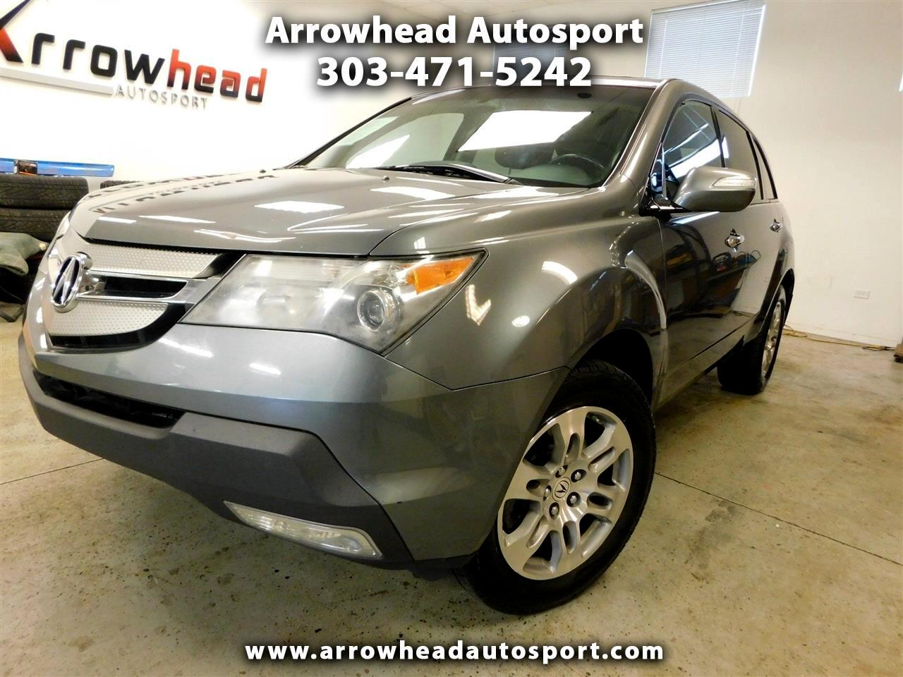 Acura MDX AWD 4dr Tech/Entertainment Pkg 2009