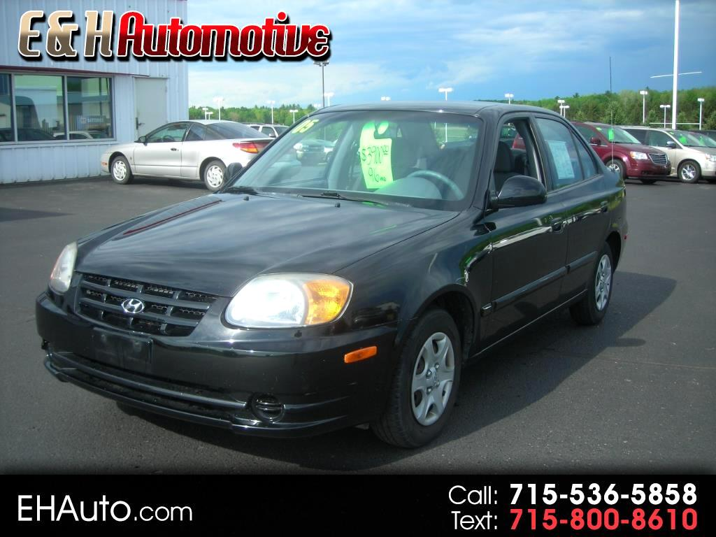 2005 Hyundai Accent GLS 4-Door