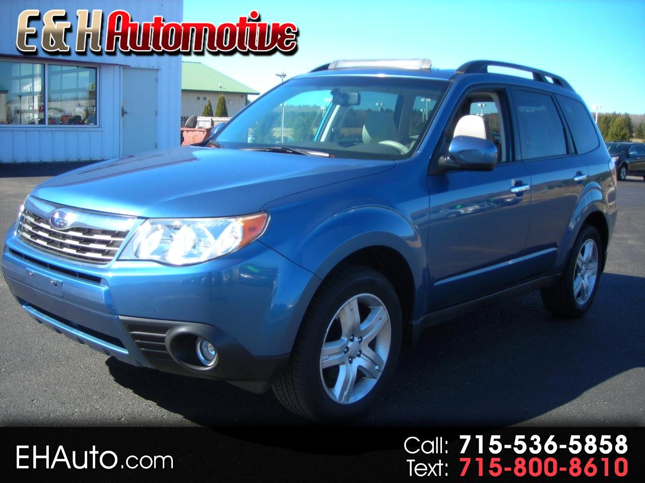 2009 Subaru Forester (Natl) 4dr Auto X w/Prem/All-Weather